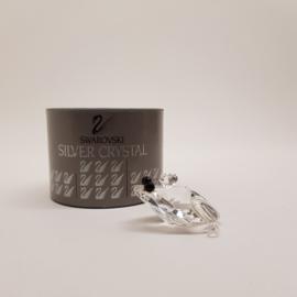Swarovski Silver Crystal Kikker met doos
