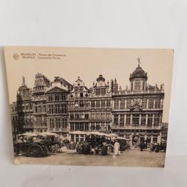 Brussels Corporations Houses grote briefkaart