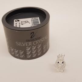Swarovski Silver Crystal Haasje mini met doosje