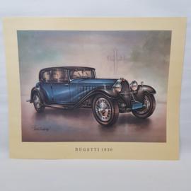 Aral Autoplaat Bugatti 1930 - Piet Olyslager