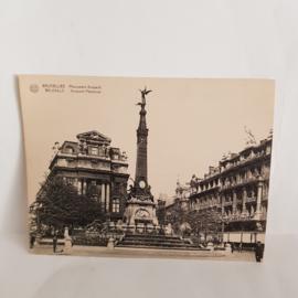 Brussels Anspach Memorial, grote briefkaart