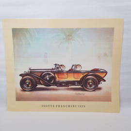 Aral Autplaat Isotta-Fraschini - Piet Olyslager