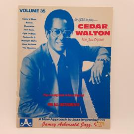 Cedar Walton Nine Jazz Originals notenboek