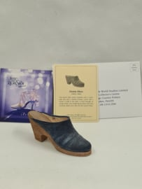 Just the right shoe Denim Blues 25141