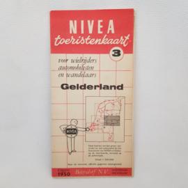 Nivea Toeristenkaart nr.3 Gelderland uitgave 1950