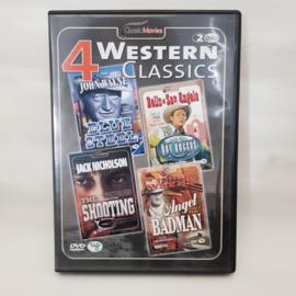 4 Western Classics 2 DVD's