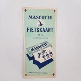 Mascotte fietskaart nr.5 Noord-Brabant/Limburg