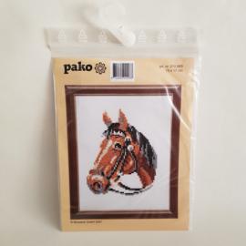 Borduurpakket Paardenhoofd