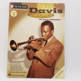 Miles Davis Standards 10 Jazz Classics met CD