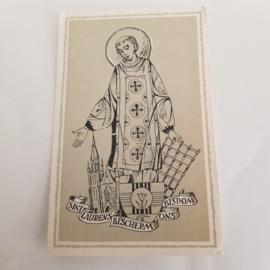 Bidprentje Gebed voor ons bisdom 1959