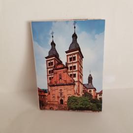 Ansichtkaarten setje Amorbach Byer Odenwald - Abteikirche
