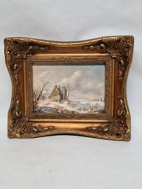 A Stern schilderij olieverf op paneel