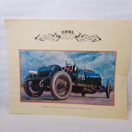 Aral Opel 1913 Autoplaat