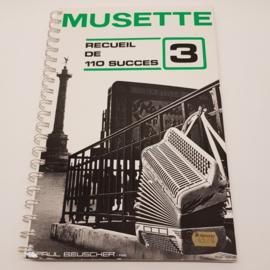 Musette 3 Recueil de 110 success of Paul Beuscher