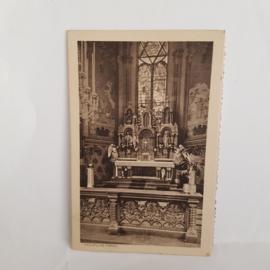 Briefkaart gesticht Voorburg Vught Sepiakleur