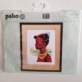 Borduurpakket Afrikaanse Pako