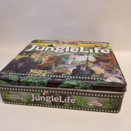 Junglelife National Geografic spel in blik