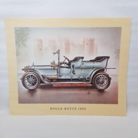 Aral Autoplaat Rolls-Royce 1906