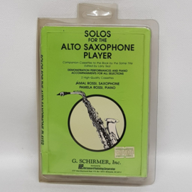 Solos for the Saxophone Player cassettebandjes