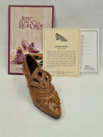Just the right shoe Courtly Riches 25040