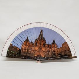 Waaier Catedraal Barcelona souvenier