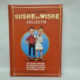 Suske en Wiske stripboek met o.a De gulden harpoen