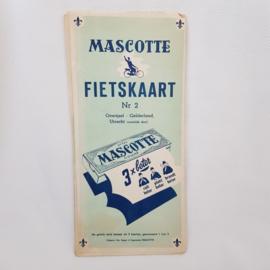 Mascotte fietskaart nr.2 Overijssel-Gelderland-Utrecht