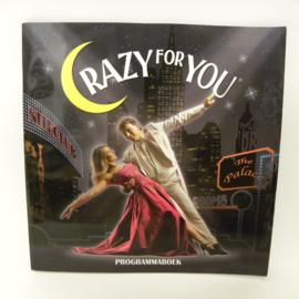 Crazy for you programmaboekje