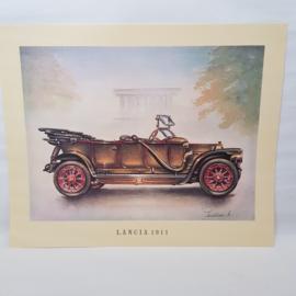 Aral Autoplaat Lancia 1911 - Piet Olyslager