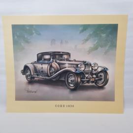 Aral Autoplaat Cord 1930 - Piet Olyslager