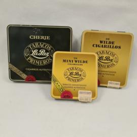 3 Vintages Tabacos Primeros sigarenblikjes