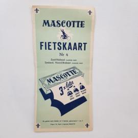Mascotte fietskaart nr.4 Zuid-Holland/Zeeland/Noord-Brabant