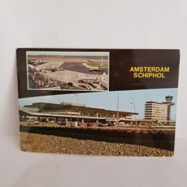 Amsterdam-Schiphol oude ansichtkaart
