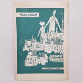 Madurodam plattegrond 1954