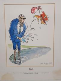 Art Print Ruud Lubbers Staatsloterij 1991 10/100 Jan Kellon