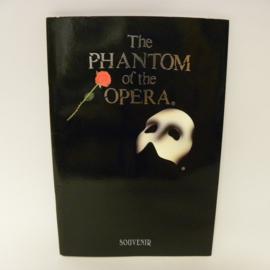 The Phantom of the Opera 2 programma boekjes
