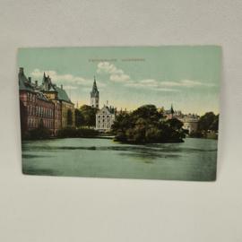 's-Gravenhage Vijverberg ansichtkaart 1913