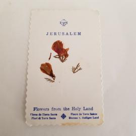 Bidprentje Jerusalem