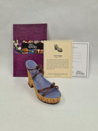 Just the right shoe Corck Wedge 25003