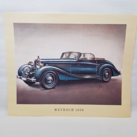 Aral Autoplaat Maybach 1938