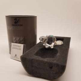 Swarovski Silver Crystal Bever met doos en certificaat