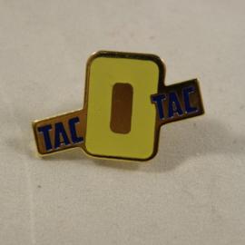 Tac O Tac kleur geel