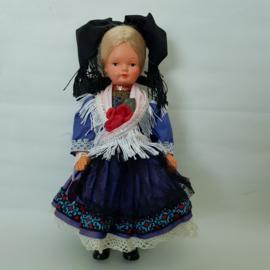 Doll's Trachten klederdracht poppetje jaren 60