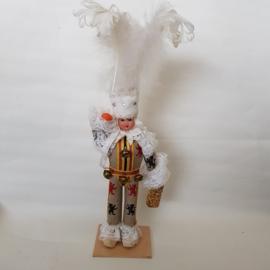 Klederdracht poppetje Carnaval jaren 60