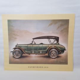 Aral Pathfinder 1918 Autoplaat Piet Olyslager