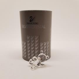 Swarovski Silver Crystal Beertje liggend met doos