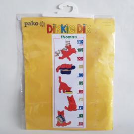 Borduurpakket Thomas Dikkie Dik Meetlat Pako