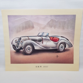 Aral Autoplaat BMW 1937