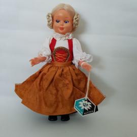 Austria - Lienz klederdrachtpoppetje jaren 60