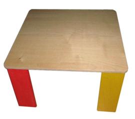 Kinder tafel en 4 Stoelen set uit de kubus serie